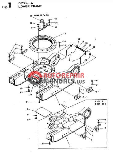 yanmar crawler excavator yb10 2 parts manuals auto. Black Bedroom Furniture Sets. Home Design Ideas