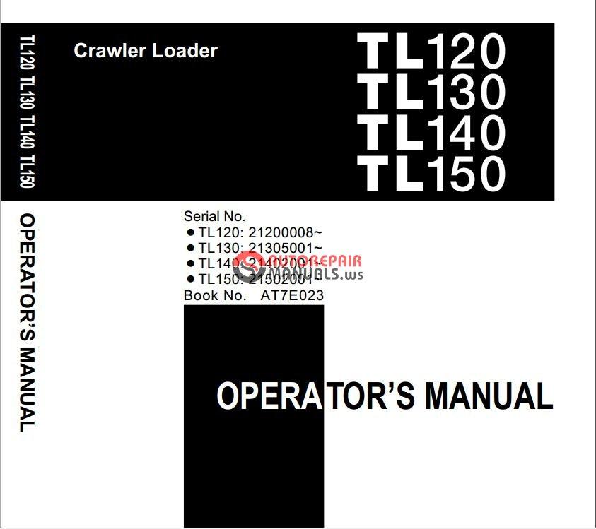 Takeuchi Track Loader TL120/TL130/TL140/TL150 AT7E023