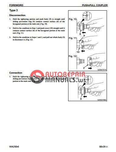 komatsu wheel loaders wa250