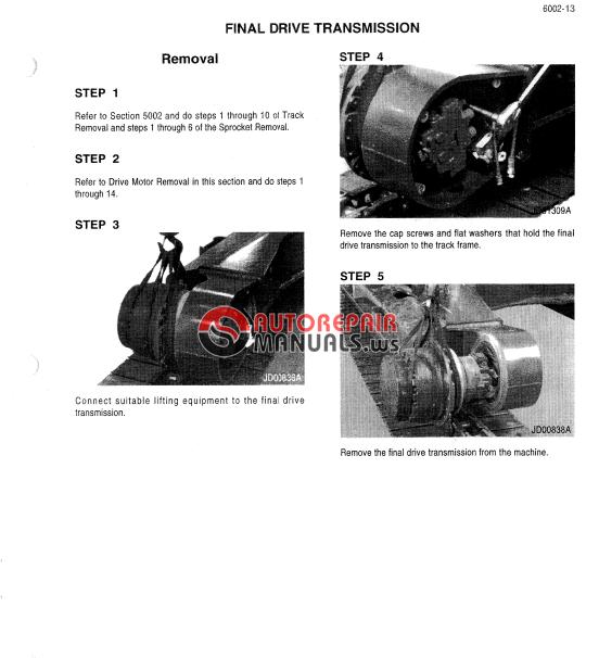 621d case loader service manual