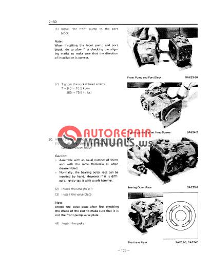 toyota skid steer sdk6-8 repair manual