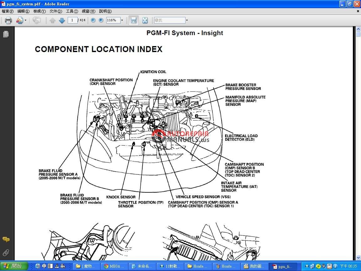 honda insight  workshop manual auto repair manual forum heavy equipment forums