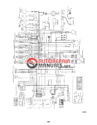 shibaura cm 314  374 workshop manuals