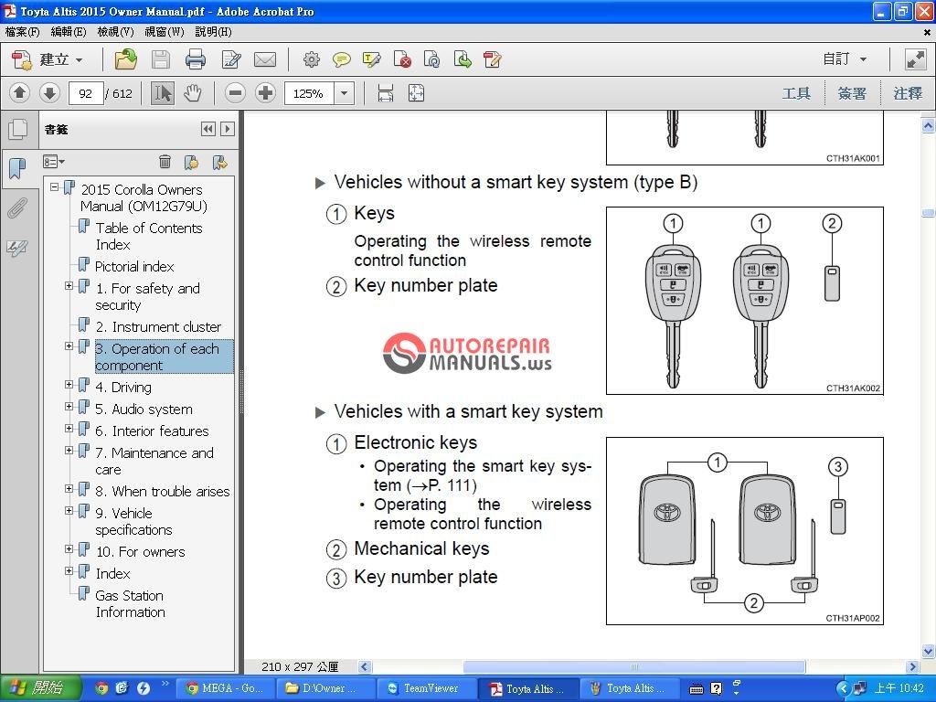 toyota corolla service manual 2015 forum pdf