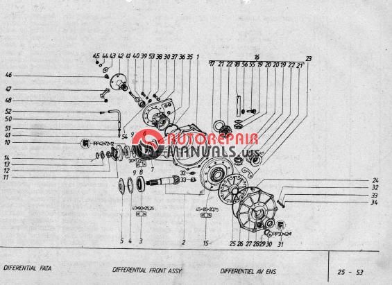 aro 24 parts catalog engine l25