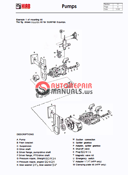 hiab loader crane service manual