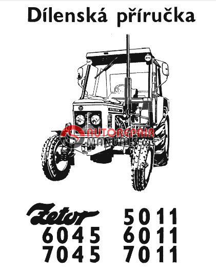 Zetor Tractor 5011 6011 6045 7011 7045 Repair Manual border=