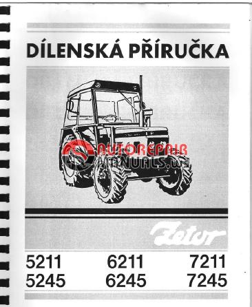 zetor tractor 5211 5245 6211 6245 7211 7245 repair manual auto rh autorepairmanuals ws Zetor 5045 Zetor 5045