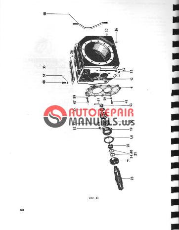 Zetor Tractor 5211//5245/6211/6245/7211/7245 Repair Manual