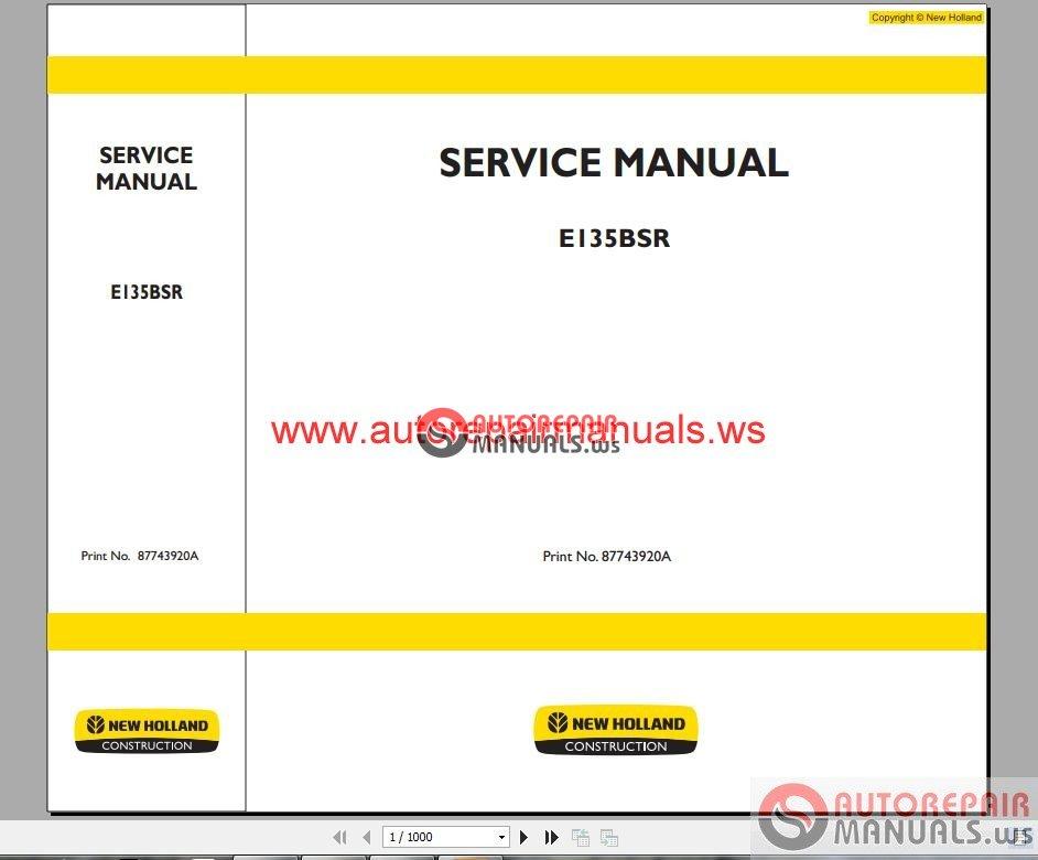 New Holland Ls170 Service Manual Download
