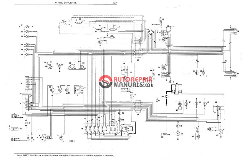 fiat allis wiring diagram