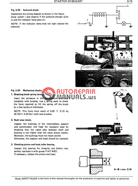 Fiat Allis 14c Parts : Fiat allis c crawler dozer service manual auto repair