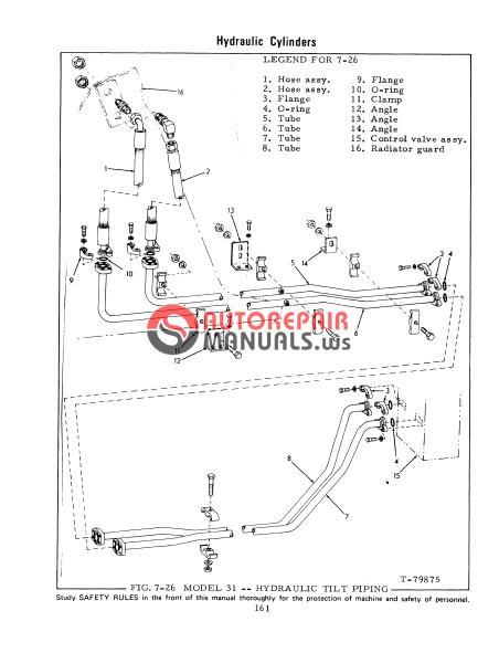 Fiat Allis 8b Dozer Parts : Fiat allis crawler dozer service manual auto repair