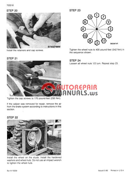 case 1085c crawler excavator service manual