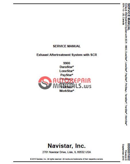 Navistar Service And Parts Manual