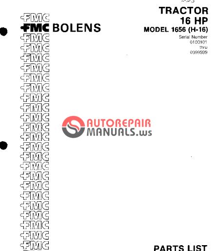 Bolens 1468 Manual