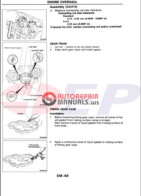 east power nissan td27 engine forklift service manual ... daihatsu rocky manual pdf