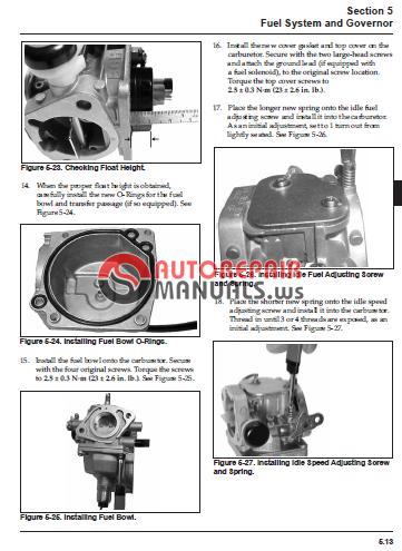 kohler engines sv710 sv740 sv810 sv840 service manual Belarus 250 Motor belarus 250 tractor service manual