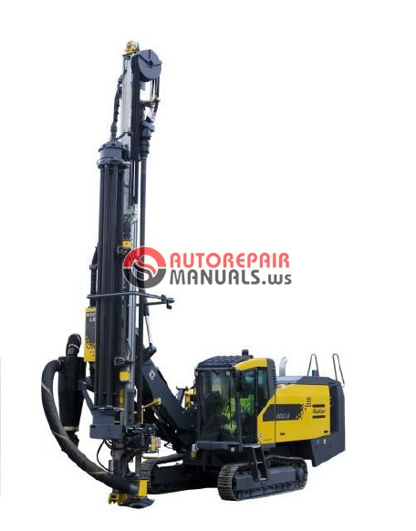 Atlas Copco Flexiroc D55 Service Manual All Electrical And