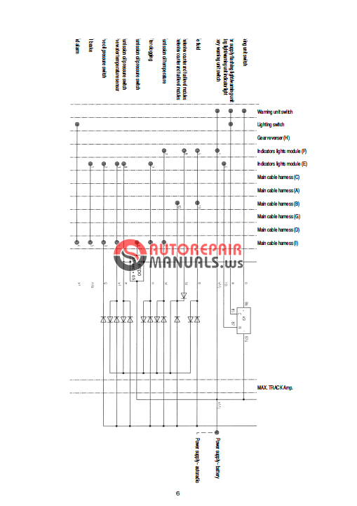 wiring diagram for farmtrac tractor mahindra tractor