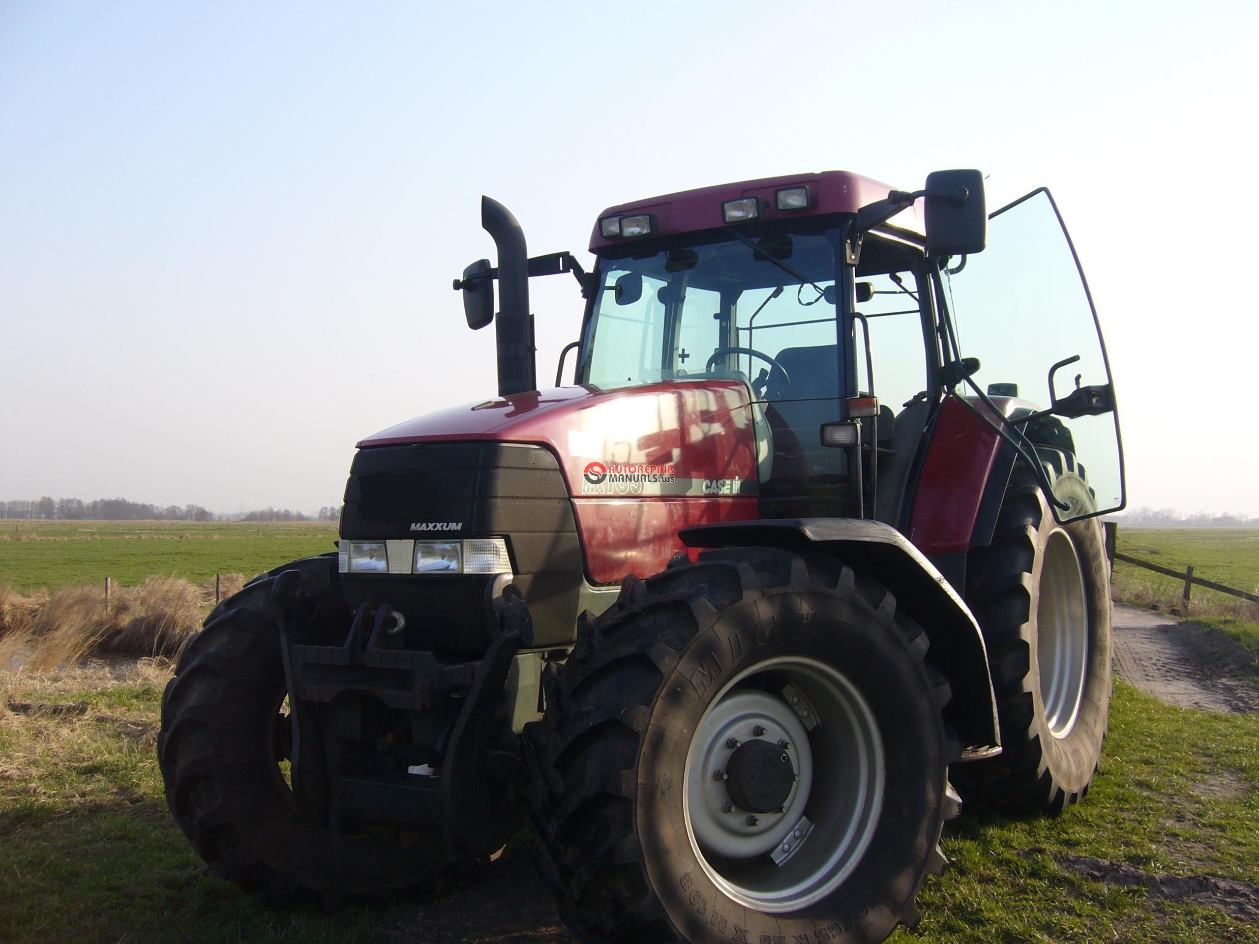 Ac Auto Repair >> Tractors Case Mx100,110,120,135, Full Service Manual 1606 pags.   Auto Repair Manual Forum ...