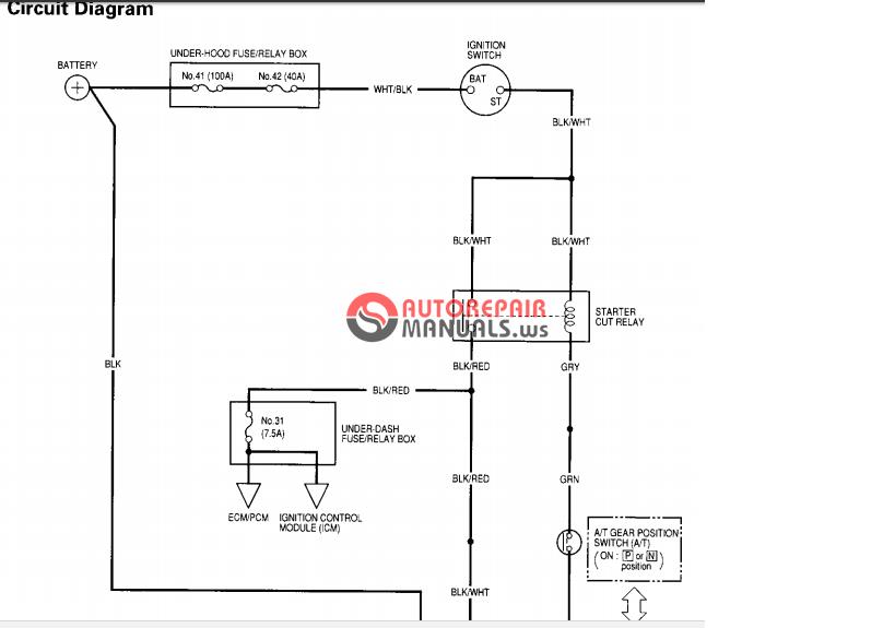 Honda CRV 1997 Service manual   Auto Repair Manual Forum