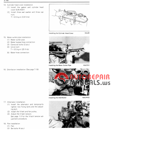 Toyota 4y Engine Repair Manual