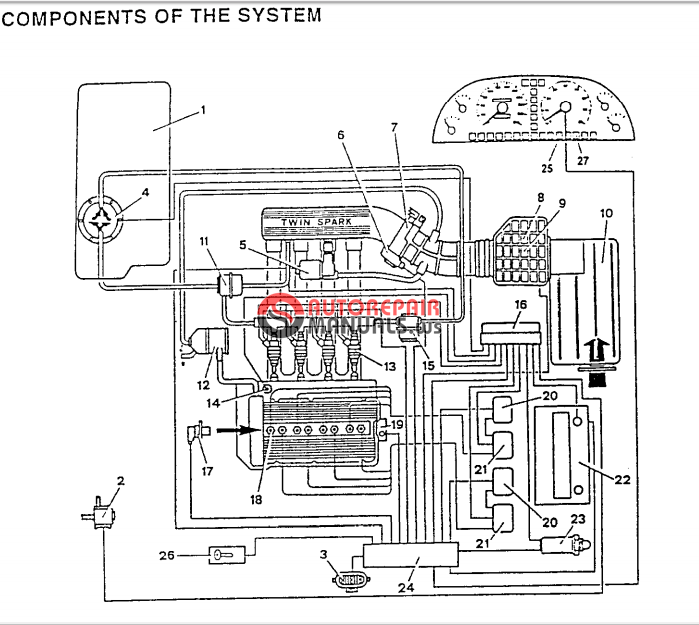free download  alfa romeo 155 repair manuals  engines 2
