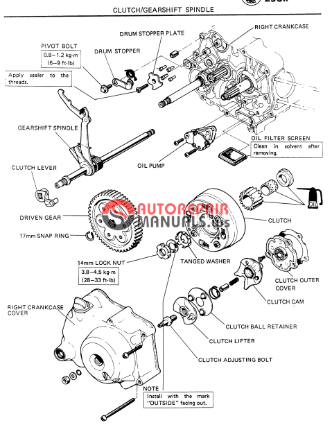 free download  honda shop manual z50r