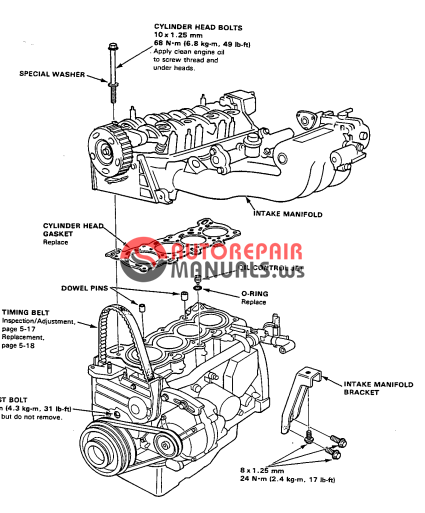 free download  honda crx workshop manual