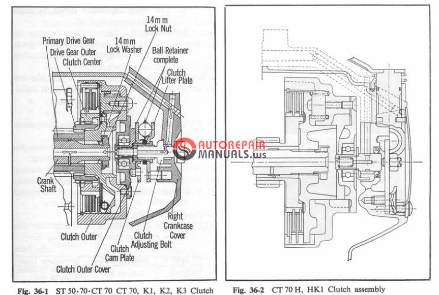 1982 honda xr80 wiring diagram [free download] honda ct70 1982 shop manual | auto repair ...