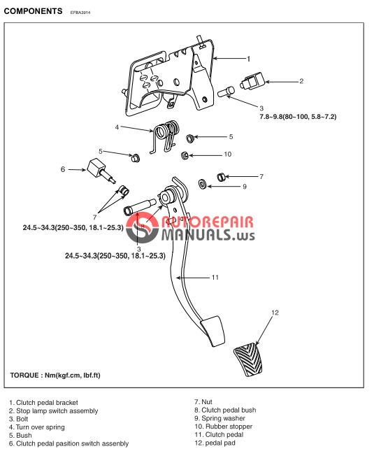 free download  hyundai coupe workshop manual  clutch