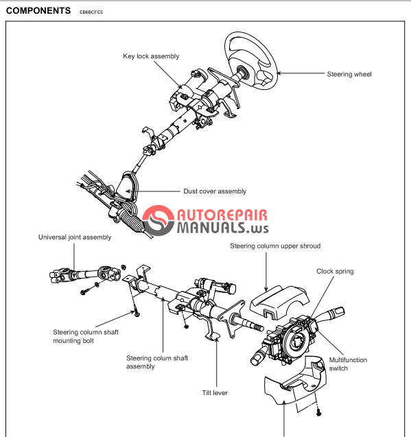 free download  hyundai coupe workshop manual  steering