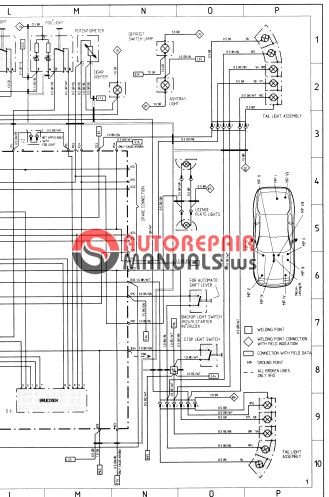 Free Download Porsche 944 Workshop Manual Vol4x Electrical