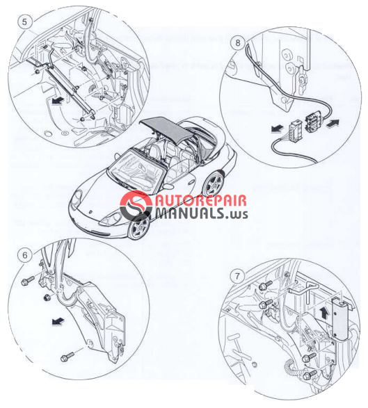 Porsche 996 Headlight Fix: [Free Download] Porsche 996 Workshop Manuals (Group 6 Body