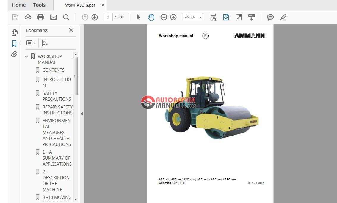 ammann asc 70 110 150 200 250 service manual auto repair rh autorepairmanuals ws ammann avp 3020 service manual ammann acr 60 service manual