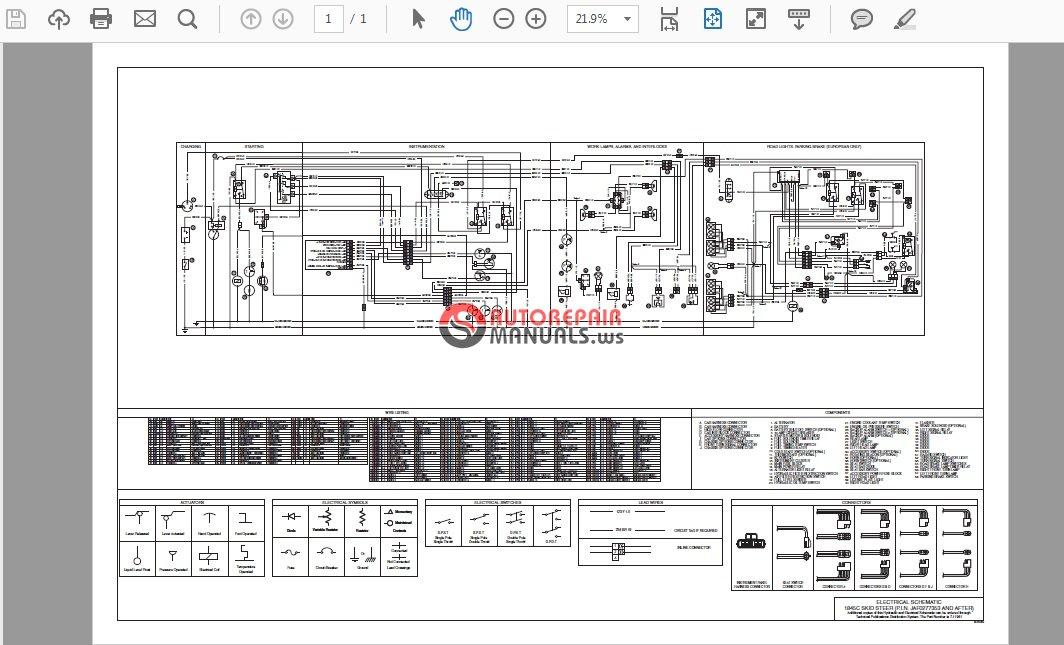 Case 1845c Electrical Schematic