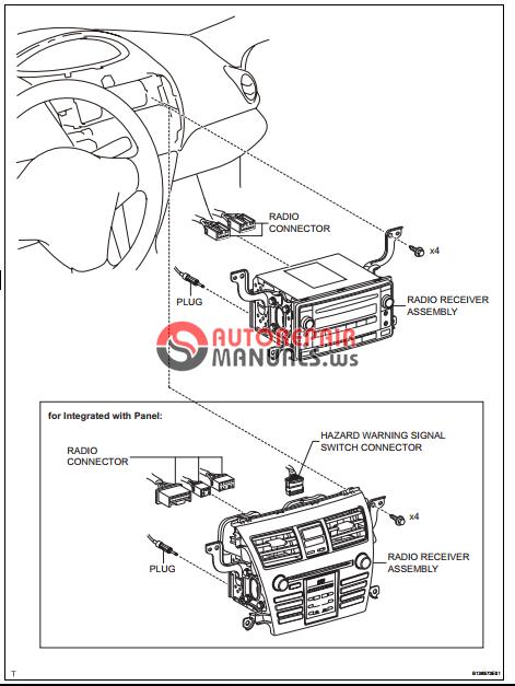 Free Download  Toyota Yaric Repair Manuals  Audio And Visual System