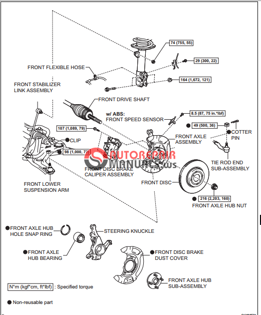 free download  toyota yaric repair manuals  audio and visual system