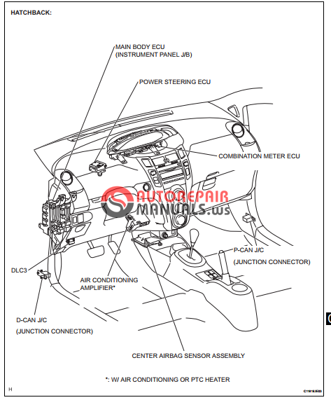 Free Download  Toyota Yaric Repair Manuals  Can