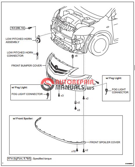 Free Download Toyota Yaric Repair Manuals Horn System
