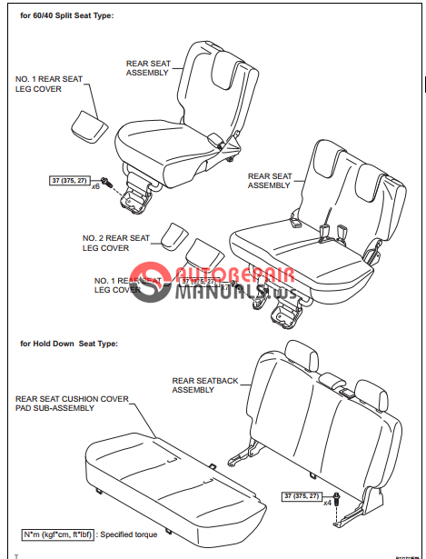 free download  toyota yaric repair manuals  seat belt