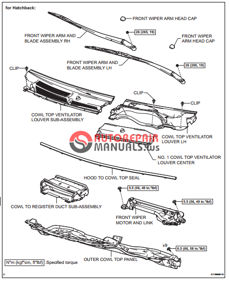 free download  toyota yaric repair manuals  suspension