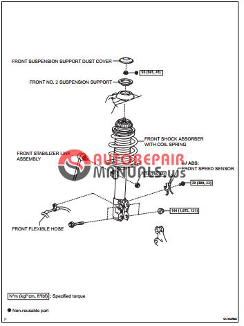 toyota yaric repair manuals suspension