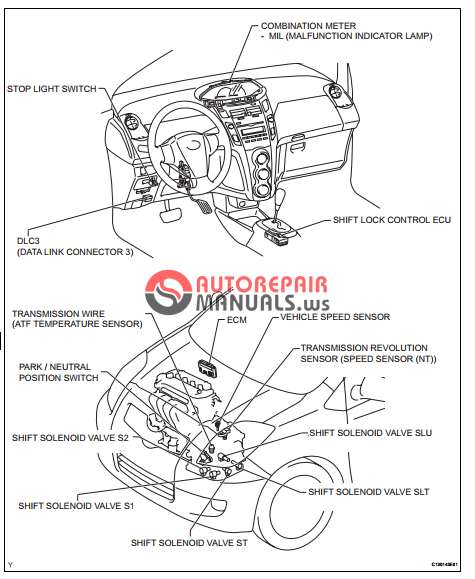 free download  toyota yaric repair manuals  u340