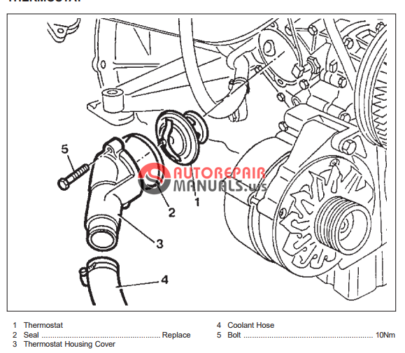 free download  ssangyong musso service manual  engine cooling