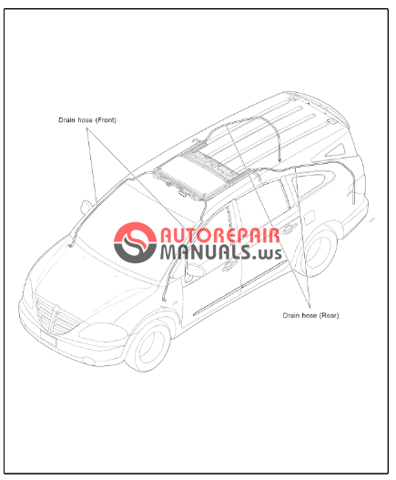 free download  ssangyong rodius a130 service manual  body