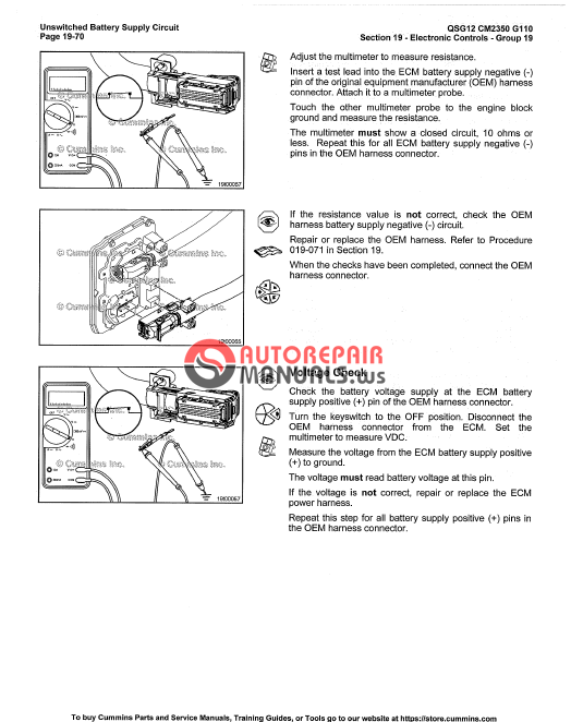Cummins Engine Qsg12 Service Manual