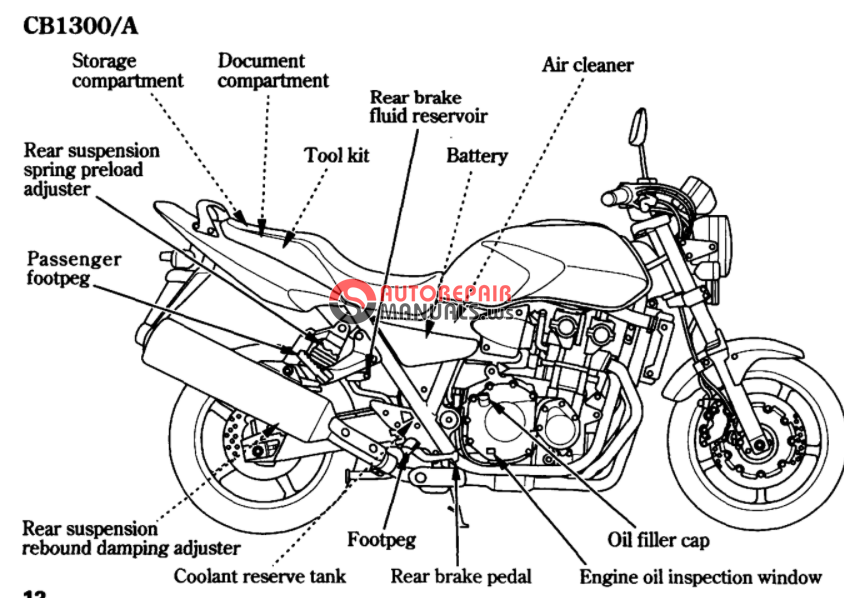 free download  2006 honda cb 1300  s  a  sa oweners manuals
