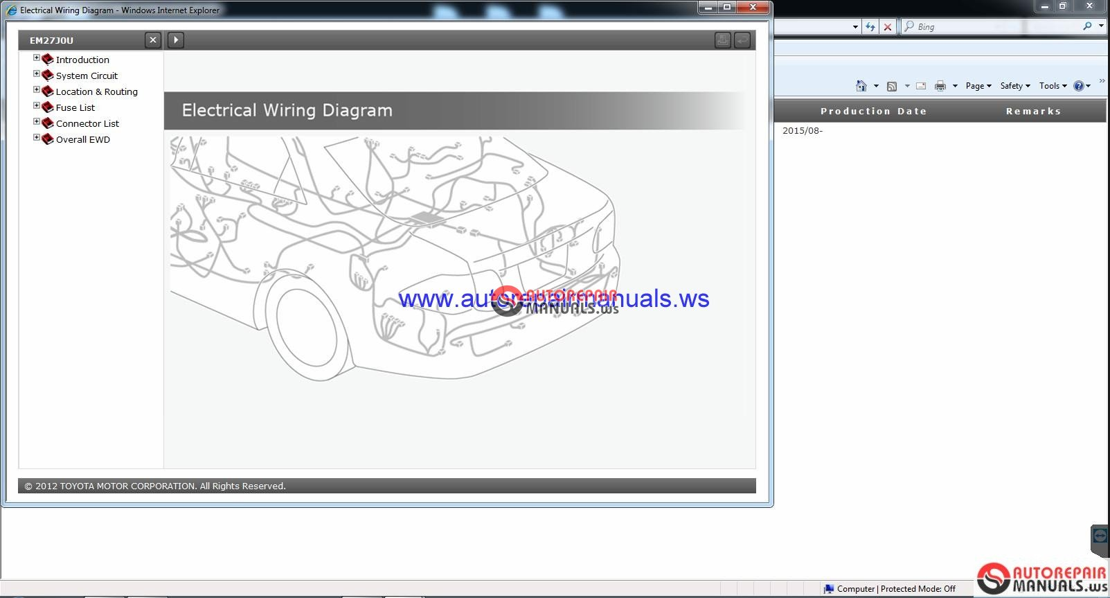 Land Cruiser Urj200  Rm27j0u  2016 Gsic Repair Manual